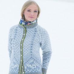 Strikket jakke, Vinterland
