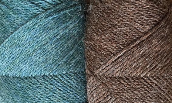 LYS PETROL og brun