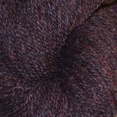 6103 melert mørk brun